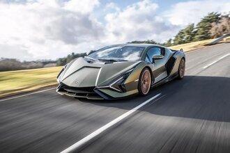 Lamborghini Sian — гибрид без аккумулятора. Что? Да!43