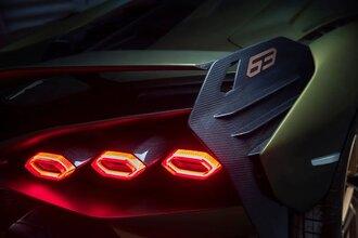 Lamborghini Sian — гибрид без аккумулятора. Что? Да!52