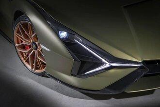 Lamborghini Sian — гибрид без аккумулятора. Что? Да!57