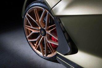 Lamborghini Sian — гибрид без аккумулятора. Что? Да!59