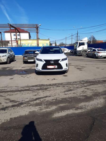 Lexus RX350 2021 - отзыв владельца