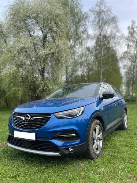 Opel Grandland X 2020 - отзыв владельца