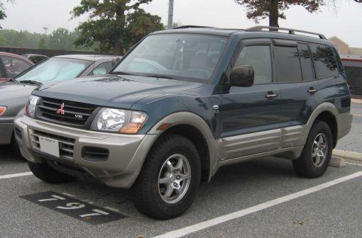 Mitsubishi Montero 2001 - отзыв владельца