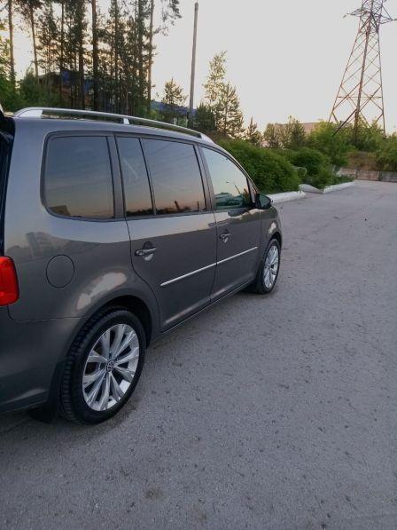 Volkswagen Touran 2013 - отзыв владельца