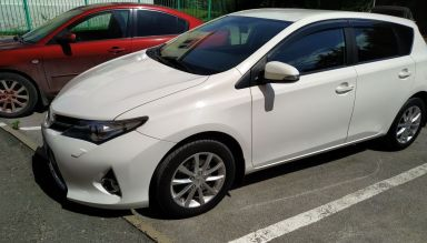 Toyota Auris 2013 отзыв автора | Дата публикации 23.08.2013.