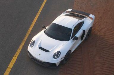 Gemballa построила на базе Porsche 911 покорителя пустынь