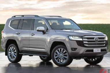 Toyota запретила перепродавать Land Cruiser 300