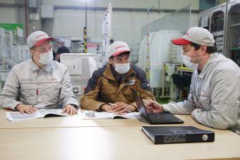 Эксперты Федерального центра компетенций завершили стажировку на заводе ООО «Тойота Мотор» в Санкт-Петербурге