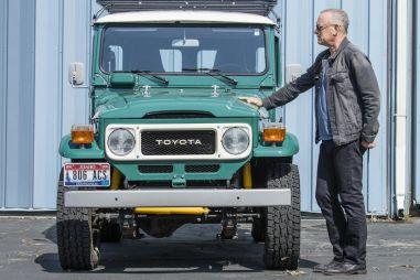 Актер Том Хэнкс выставил на продажу свой Toyota Land Cruiser FJ40