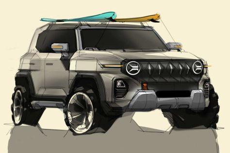 SsangYong показала концепт брутального внедорожника в стиле Jeep