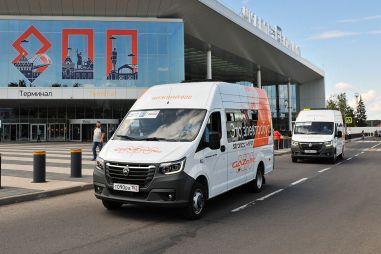 В Нижнем Новгороде запустили электрические маршрутки ГАЗель