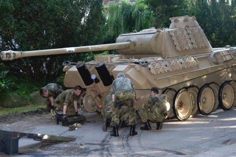 В Германии пенсионера судят за хранение в подвале дома танка времен Второй мировой