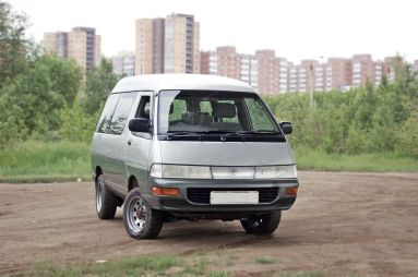 Народное ретро. Toyota Town Ace R20/R30 1993 года. Козырная карта