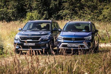 Один трясется, второй стонет. Сравнительный тест-драйв Kia Seltos и Opel Crossland