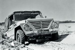Разрушенный кузов, поверженный Land Rover: первый бой «Нивы» ВАЗ-2121 в 1974 году