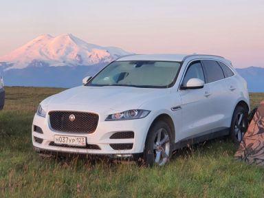 Jaguar F-Pace 2018 отзыв автора | Дата публикации 20.11.2018.