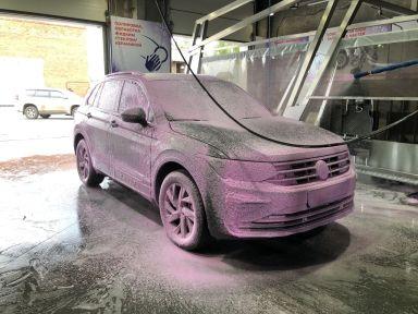Volkswagen Tiguan 2021 отзыв автора | Дата публикации 12.07.2021.