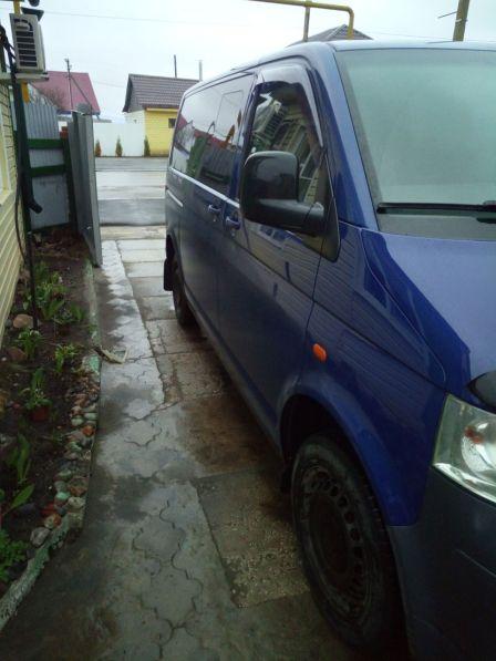 Volkswagen Transporter 2007 - отзыв владельца