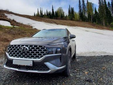 Hyundai Santa Fe 2021 отзыв автора | Дата публикации 21.07.2021.