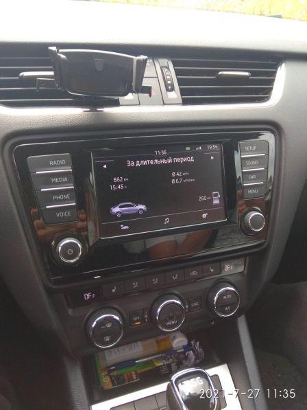 Skoda Octavia 2016 - отзыв владельца