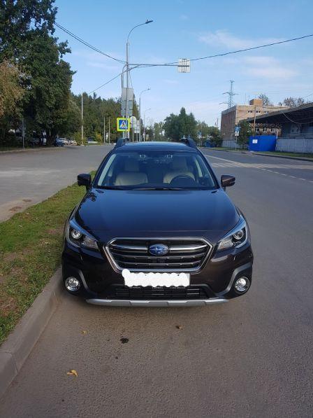 Subaru Outback 2019 - отзыв владельца