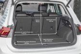 Volkswagen Tiguan 202007 - Размеры багажника
