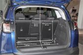 Opel Crossland 2020 - Размеры багажника