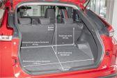 Mitsubishi Eclipse Cross 2020 - Размеры багажника