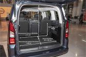Opel Combo 2021 - Размеры багажника