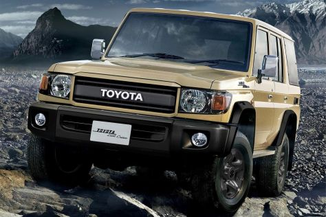 Toyota Land Cruiser 70 получил спецверсию 70th Anniversary Special Edition