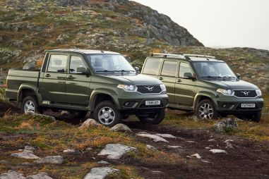 УАЗ дал старт продажам битопливных Патриота и Пикапа. От 1 366 000 рублей