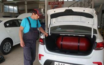 Из всех продаваемых сейчас в стране автомобилей 2,6% работают на газомоторном топливе.