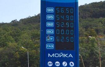В августе цены выросли у всех продавцов горючего, кроме «Бензо» и «Октанта».