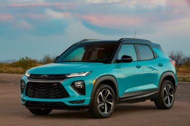 В России появится компактный кроссовер Chevrolet Trailblazer: объявлена цена