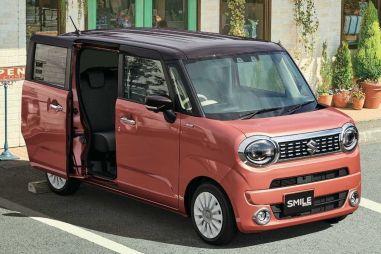 Suzuki показала новую модель Wagon R Smile со сдвижными дверьми