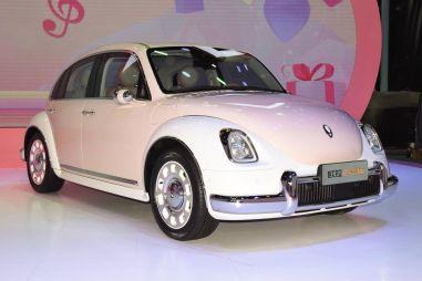 Great Wall представил серийную версию электромобиля в стиле Фольксвагена Жука