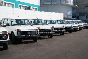 В Самарской области для медиков закупили крупную партию Lada Niva и Lada Largus