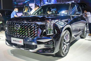 Кроссовер GAC GS8 нового поколения полностью представили