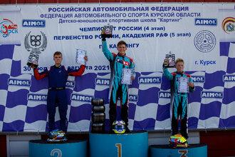 Победе Никиты Артамонова не помешал даже десятисекундный штраф