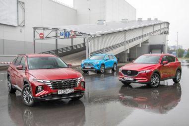 Hyundai Tucson против Mazda CX-5 и Toyota RAV4. Ищем «зарытую собаку» в новом Tucson