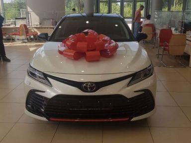 Toyota Camry 2021 отзыв автора | Дата публикации 07.08.2021.
