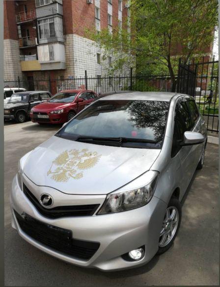 Toyota Vitz 2013 - отзыв владельца