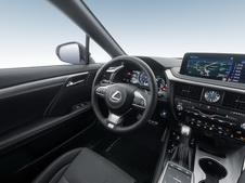 Lexus RX350 2019, 4 поколение, рестайлинг