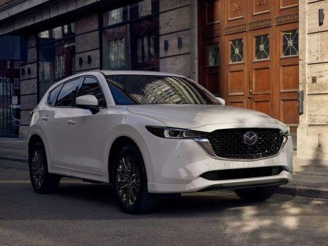 Mazda CX-5 рестайлинг, 2 поколение, KF