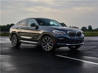 Новый BMW X4 от 34 500 рублей в месяц