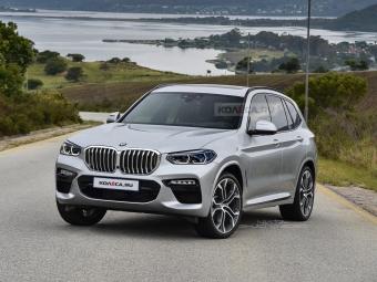 Новый BMW X3 от 33 500 рублей в месяц