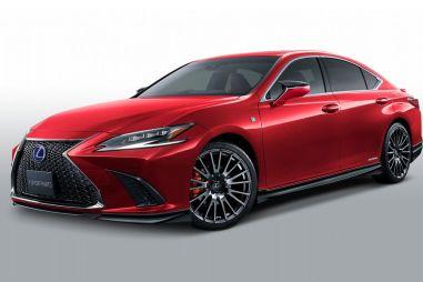 Для Lexus ES в Японии стал доступен тюнинг от TRD