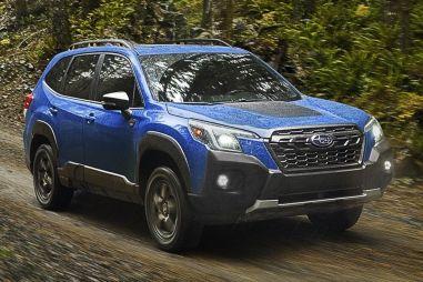 «Дикий» Subaru Forester Wilderness показался раньше времени