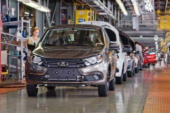 Основные мощности завода в Тольятти продолжают простаивать.