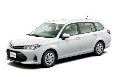 Toyota обновила Corolla Fielder и Corolla Axio